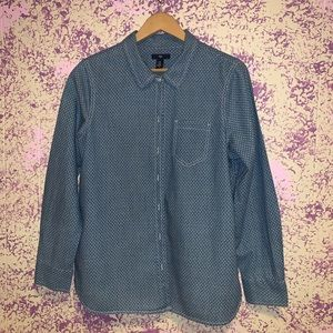 Gap long sleeve chambray